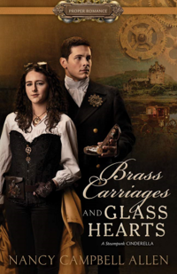 Cover of Brass Carriages and Glass Hearts by Nancy Campbell Allen